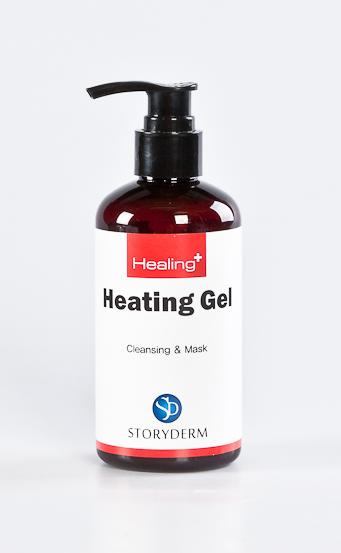 STORYDERM Гель терморегулирующий / Heating Gel 200млГели<br>Термомоделирующий гель, содержит ценный экстракт икры, усиленный пептидами. Оживляет кожу! Активные ингредиенты. Состав:   Трипептид меди 1   устраняет повреждения в клетках, стимулирует работу фибробластов по восстановлению  молодого коллагена  3-го типа, фибронектина, эластина;   Экстракт лакричника   фитоэкстроген. Активатор водно-солевого обмена. Выраженные противмикробные свойства к P.acne.   Экстракт икры содержит: полиненасыщенные Омега-3 кислоты- снабжают липидами зрелую и обезвоженную кожу;   Натрий, калий, магний, фосфор, железо, витамины A, D, E, F, фрагменты ДНК активируют митотическую активность базальных кератиноцитов, увеличивают количество клеток в шиповатом и зернистом слое, повышают синтез эпидермальных липиов;   Полисахарид целлюлоза + коллаген   подобные протеины из воска жожоба   немедленное формирование защитных мембран для клеток эпидермиса, защита клетки;   Масло миндаля   улучшает кровообращение, усиливает процесс регенерации клеток.   Масло макадами   способствует улучшению микроциркуляции кожи. Гидрирует. Способ применения: на предварительно очищенную кожу нанести небольшое количество маски, избегая попадания в области глаз. Оставить на 10-15 минут. Затем смыть водой.<br><br>Объем: 200 мл