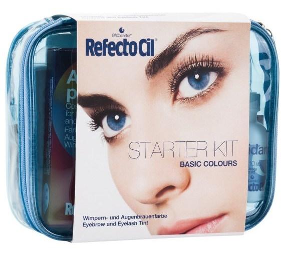 REFECTOCIL Набор стартовый для окрашивания бровей и ресниц, синий / Starter Kit Basic Colours