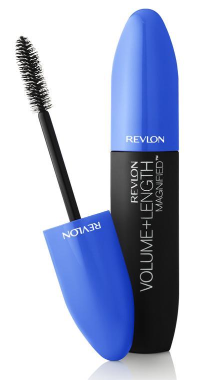 REVLON Тушь для ресниц Объем + длина 303 / Mascara Volume + Length Magnified Nwp Blackened brown - Тушь