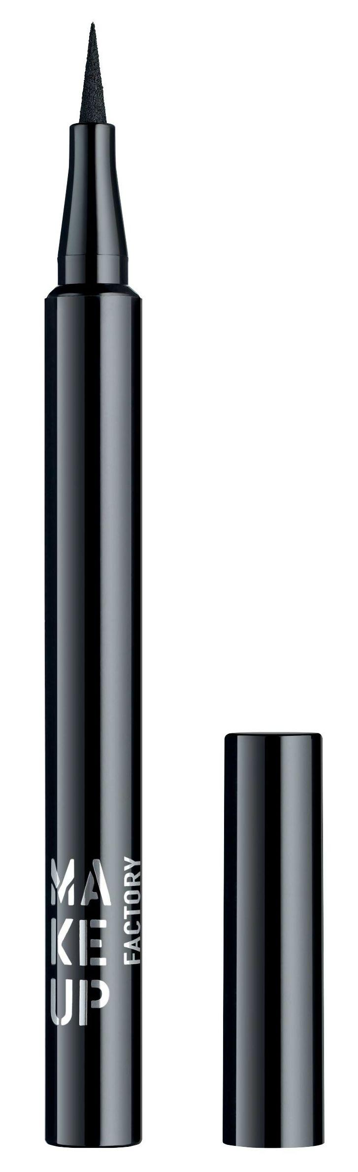 Купить MAKE UP FACTORY Подводка жидкая для глаз, 01 черный / Full Precision Liquid Liner 1 мл