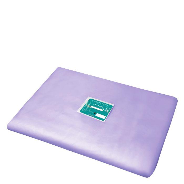 Купить DOMIX Простыня в сложении SMS 15 80*200 см фиолетовая Эконом 20 шт/уп