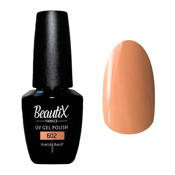 Купить BEAUTIX 602 гель-лак для ногтей 15 мл, Коричневые