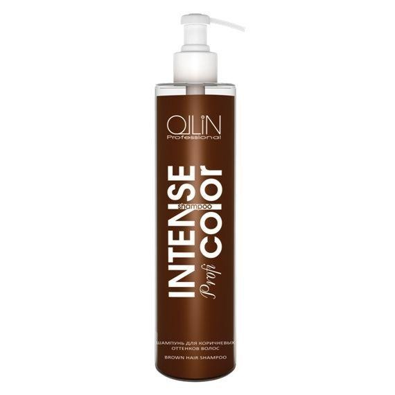OLLIN PROFESSIONAL ������� ��� ���������� �������� ����� / Brown hair shampoo INTENSE Profi COLOR 250��