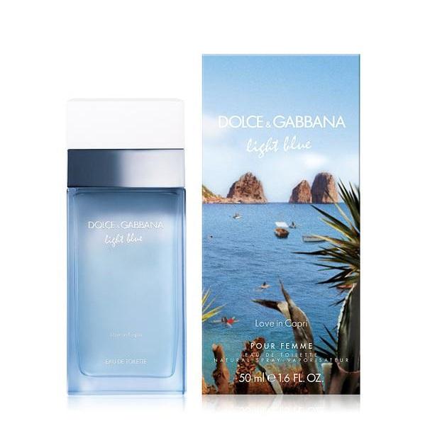 DOLCE&GABBANA Вода туалетная женская Dolce&Gabbana Light Blue Love In Capri 50 мл