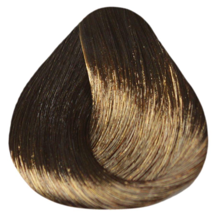 ESTEL PROFESSIONAL 5/7 краска д/волос / DE LUXE SENSE 60млКраски<br>5/7 светлый шатен коричневый Разнообразие палитры оттенков SENSE DE LUXE позволяет играть и варьировать цветом, усиливая естественную красоту волос, создавать яркие оттенки. Волосы приобретут великолепный блеск, мягкость и шелковистость. Новые возможности для мастера, истинное наслаждение для вашего клиента. Полуперманентная крем-краска для волос не содержит аммиак. Окрашивает волосы тон в тон. Придает глубину натуральному цвету волос, насыщает их блеском и сиянием. Выравнивает цвет волос по всей длине. Легко смешивается, обладает мягкой, эластичной консистенцией и приятным запахом, экономична в использовании. Масло авокадо, пантенол и экстракт оливы обеспечивают глубокое питание и увлажнение, кератиновый комплекс восстанавливает структуру и природную эластичность волос, сохраняет естественный гидробаланс кожи головы. Палитра цветов: 68 тонов. Цифровое обозначение тонов в палитре: Х/хх   первая цифра   уровень глубины тона х/Хх   вторая цифра   основной цветовой нюанс х/хХ   третья цифра   дополнительный цветовой нюанс Рекомендуемый расход крем-краски для волос средней густоты и длиной до 15 см   60 г (туба). Способ применения: ОКРАШИВАНИЕ Рекомендуемые соотношения Для темных оттенков 1-7 уровней и тонов EXTRA RED: 1 часть крем-краски SENSE DE LUXE + 2 части 3% оксигента DE LUXE Для светлых оттенков 8-10 уровней: 1 часть крем-краски ESTEL SENSE DE LUXE + 2 части 1,5% активатора DE LUXE. КОРРЕКТОРЫ /CORRECTOR/ 0/00N   /Нейтральный/ бесцветный безамиачный крем. Применяется для получения промежуточных оттенков по цветовому ряду. 0/66, 0/55, 0/44, 0/33, 0/22, 0/11   цветные корректоры. С помощью цветных корректоров можно усилить яркость, интенсивность цвета, или нейтрализовать нежелательный цветовой нюанс. Рекомендуемое количество корректоров: 1 г = 2 см На 30 г крем-краски (оттенки основной палитры): 10/Х   1-2 см 9/Х   2-3 см 8/Х   3-4 см 7/Х   4-5 см 6/Х   5-6 см 5/Х   6-7 см 4/Х   7-8 см 3/Х   8-9 с