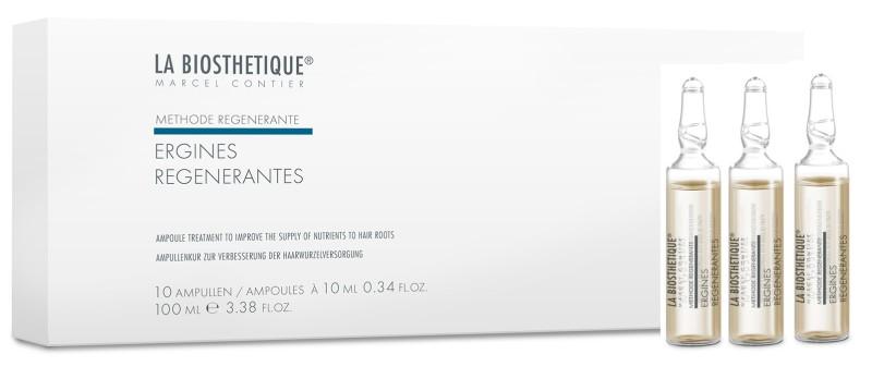 LA BIOSTHETIQUE Сыворотка поддерживающая против выпадения волос, в ампулах / Ergines Regenerantes