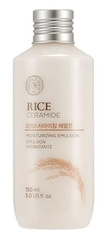THE FACE SHOP Эмульсия увлажняющая с рисом и керамидами / Rice & Ceramide Moisturizing Emulsion 150 мл -  Эмульсии
