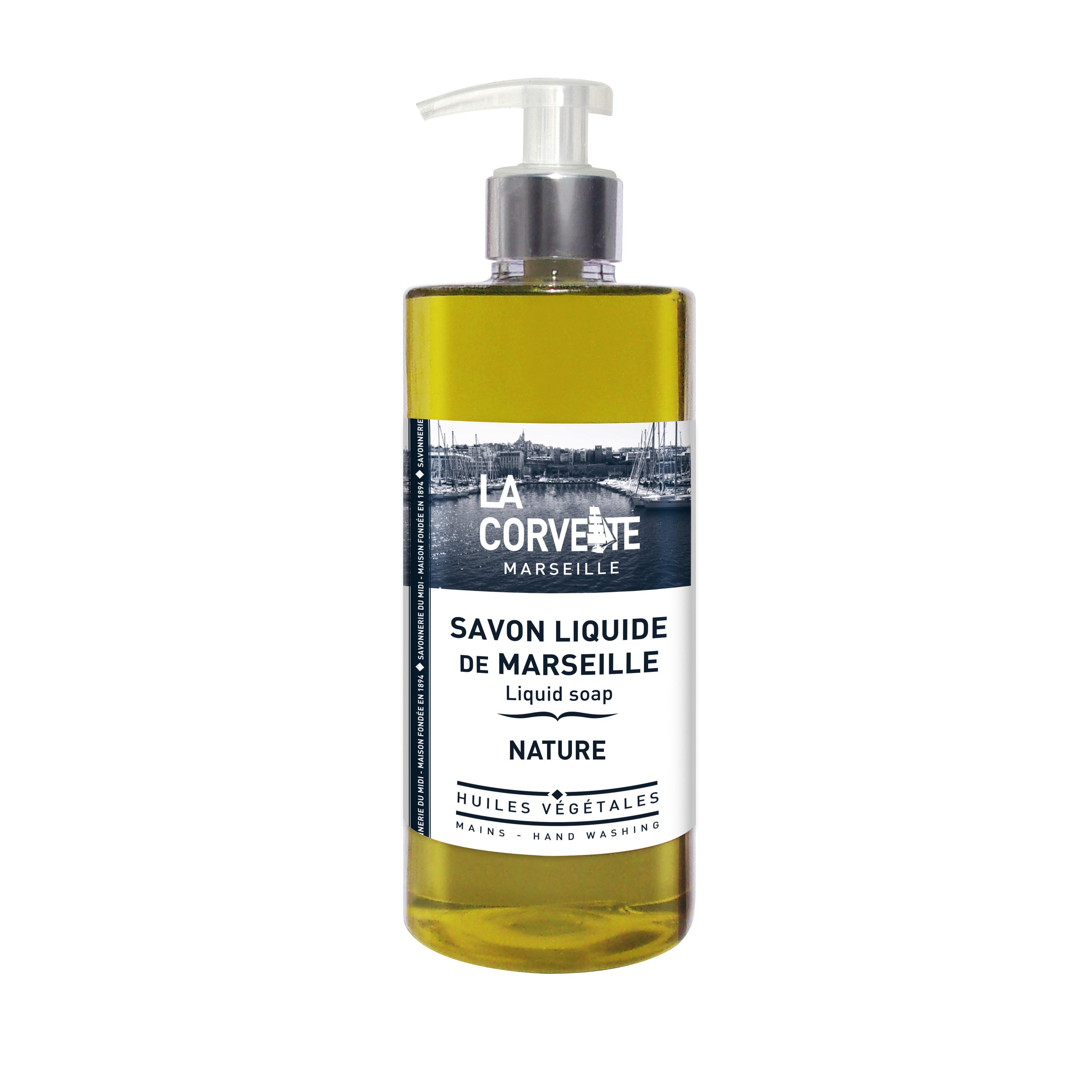 LA CORVETTE Мыло жидкое из Марселя натуральное 500 мл