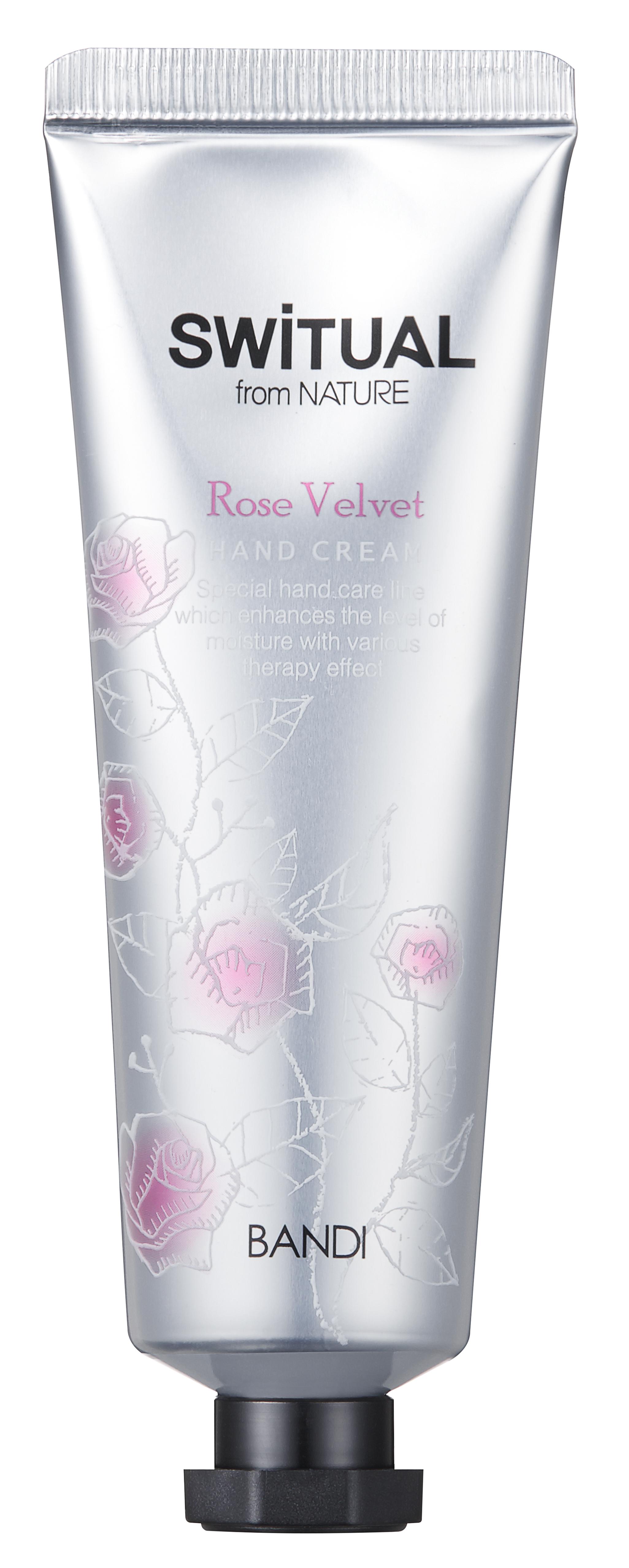 Купить BANDI Крем для рук Розовый бархат / SWITUAL HAND CREAM ROSE VELVET 50 мл