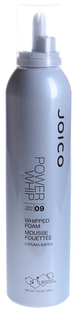 JOICO Мусс для укладки (фиксация 9) / STYLE &amp; FINISH 300млМуссы<br>Воздушный мусс, делает волосы пышными и воздушными с ультразафиксированным, но подвижным объемом и поддержкой. Удерживает созданный объем в течение 3 дней! Способ применения: Нанести мусс на чистые влажные волосы, приступить к укладке.<br>