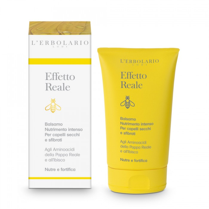 LERBOLARIO Бальзам для интенсивного питания и восстановления структуры сухих волос Естественный эффект 125мл