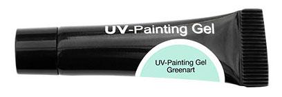 CND Гель-краска УФ / OH UV-Painting Gel Greenart 5мл