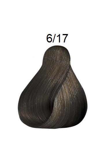 WELLA 6/17 темный блонд пепельно-коричневый краска для волос / Koleston Perfect Innosense 60мл