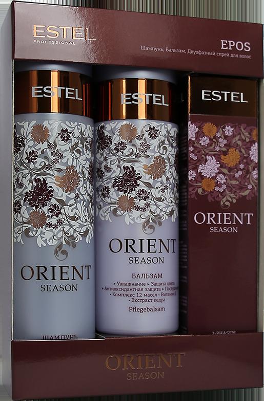 ESTEL PROFESSIONAL Набор EPOS (шампунь, двухфазный спрей, бальзам) / ESTEL ORIENT SEASON