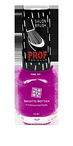BRIGITTE BOTTIER 814 лак для ногтей, темно-сиреневый / PROF FORMULA 12 мл - Лаки