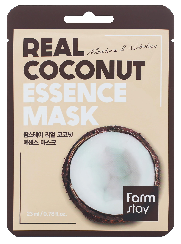 Купить FARMSTAY Маска тканевая с экстрактом кокоса для лица 23 мл