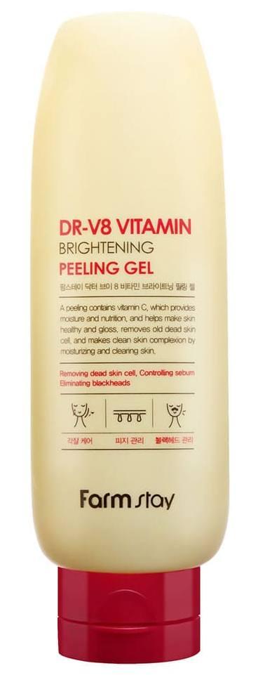 Купить FARMSTAY Гель отшелушивающий с комплексом витаминов 150 мл