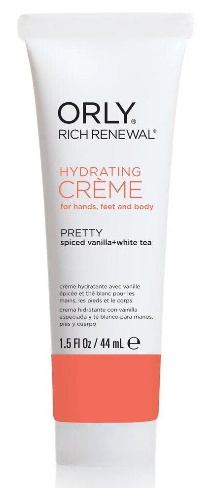 Купить ORLY Крем восстанавливающий с ароматом ванили и белого чая для рук, ног и тела / Rich Renewal Lotion Pretty 44 мл