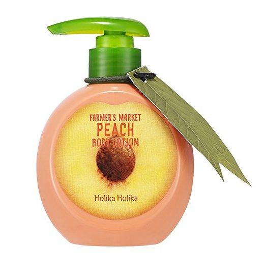 HOLIKA HOLIKA Лосьон персиковый для тела Фармерс маркет / Farmers Market Peach Body Lotion 240мл