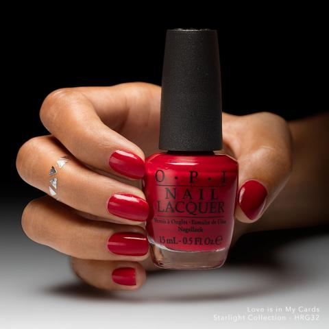 OPI Лак для ногтей Love is in My Cards / Starligh 15мл