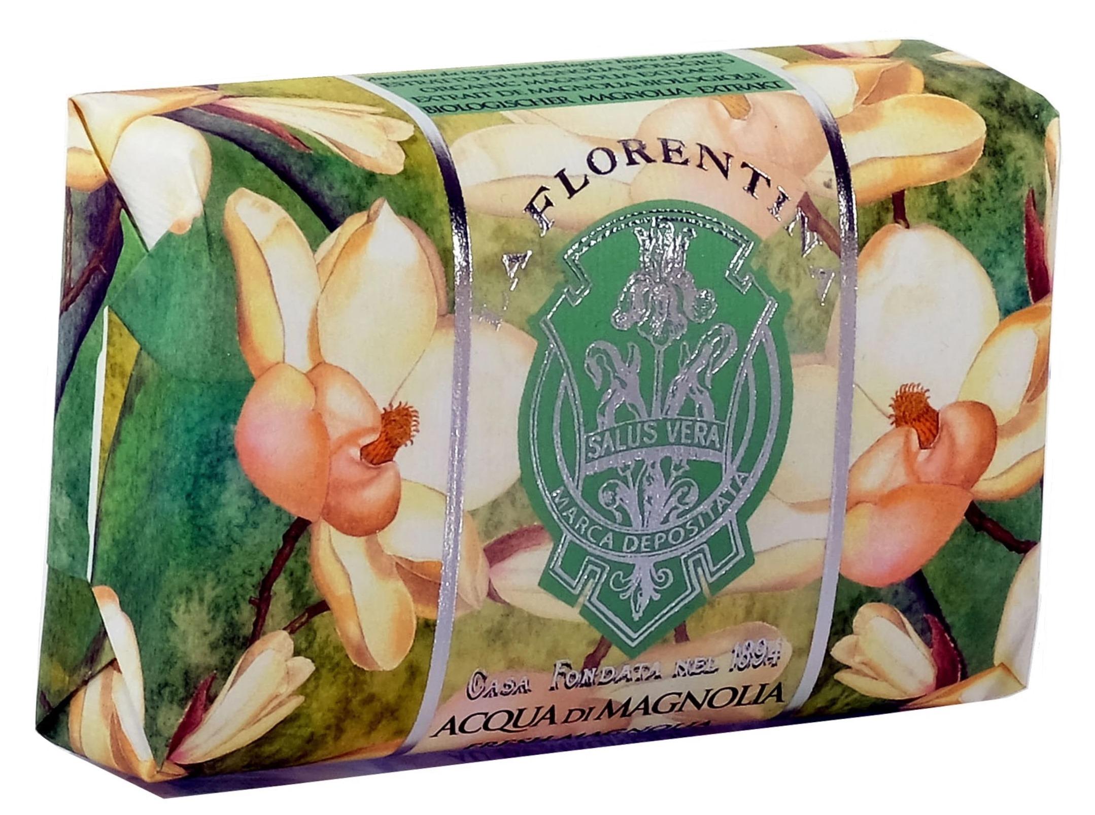 Купить LA FLORENTINA Мыло натуральное, свежая магнолия / Fresh Magnolia 200 г