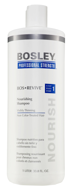 BOSLEY Шампунь питательный для истонченных неокрашенных волос / ВОS REVIVE (step 1) 1000мл