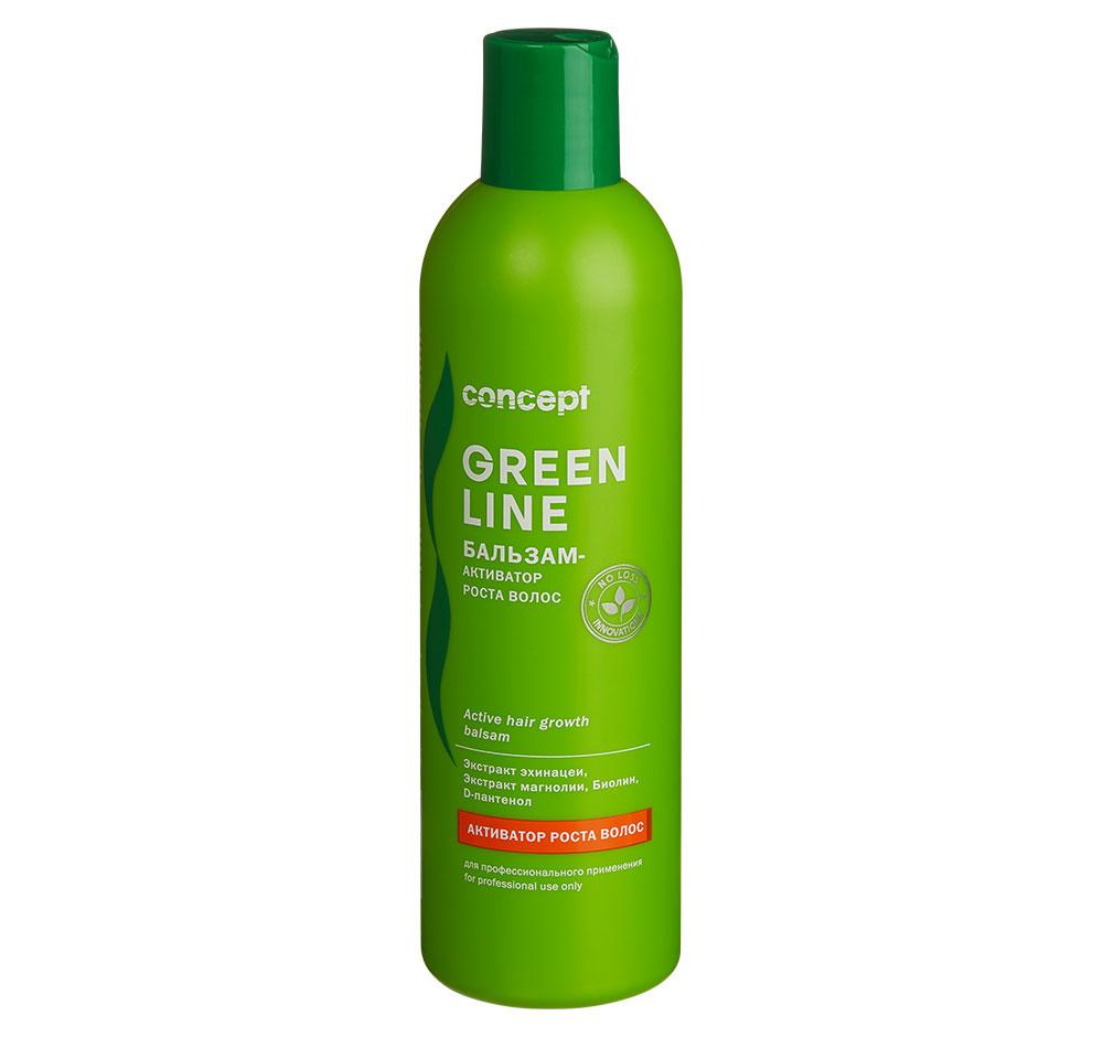 Купить CONCEPT Бальзам-активатор роста волос / GREEN LINE Active hair growth balsam 300 мл