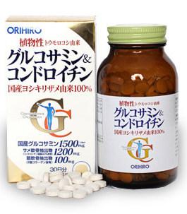 ORIHIRO Глюкозамин и хондроитин, таблетки 360 шт - Витамины и минералы