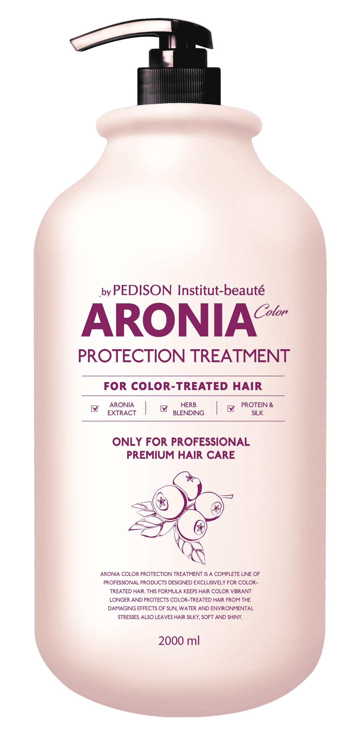 Купить EVAS Маска для волос Арония / Pedison Institute-beaut Aronia Color Protection Treatment 2000 мл