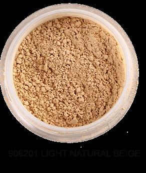 FRESH MINERALS Пудра-основа рассыпчатая с минералами Light Nature Beige(с пуховкой)/Mineral Powder Foundation 6гр