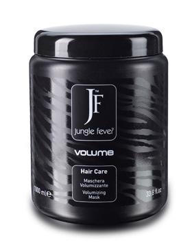 JUNGLE FEVER Маска для объема волос / Volume Mask HAIR CARE 1000млМаски<br>После применения шампуня для объема волос Jungle Fever необходимо нанести маску для объема волос Jungle Fever. Маска уплотняет структуру волоса у корней и по всей длине. Благодаря маслу хлопка и гидролизованному кератину, входящим в состав маски, волосы становятся объемными, мягкими и легко расчесываются. Способ применения: нанесите небольшое количество маски на чистые и высушенные полотенцем волосы. Оставьте на 3-5 минут и смойте обильным количеством воды. Приступайте к моделированию. Активные ингредиенты: Aqua/ Вода&amp;nbsp; Cetearyl Alcohol/цетеариловый спирт - служит структурообразователем и эмолентом в эмульсиях (смягчитель). В косметике используется как растворитель, эмульгатор, загуститель, структурная основа для других ингредиентов. Уменьшает количество образующейся пены, либо полностью предотвращают ее появление.&amp;nbsp;Активный ингредиент в противомикробных препаратах.&amp;nbsp; Cetrimonium Chloride/Цетримония хлорид   антисептик, предотвращает и препятствует накоплению статического электричества, также помогает очистить кожу и предотвратить запах, подавляет рост микроорганизмов.&amp;nbsp; Trimethylsilylamodimethicon - кондиционирующий агент&amp;nbsp; Parfum/Парфюмерная композиция&amp;nbsp; C11-15&amp;nbsp;Pareth-5   эмульгатор. Помогают несмешивающимся компонентам в косметике смешиваться друг с другом (например, масло и вода)&amp;nbsp; C11-15 Pareth-9 - эмульгатор. Помогают несмешивающимся компонентам в косметике смешиваться друг с другом (например, масло и вода)&amp;nbsp; Amodimethicone/ Амодиметикон   кремнеорганический полимер, представитель ряда силиконов. В растворах становится катионным полимером (полимером с положительным зарядом). Поверхности волоса имеет отрицательный заряд, поэтому амодиметикон легко оседает на поверхности волоса. Стоит отметить, что осаждение амодиметикона характеризуется избирательностью: больше оседает на поврежденных участках и меньше на здоровых. 