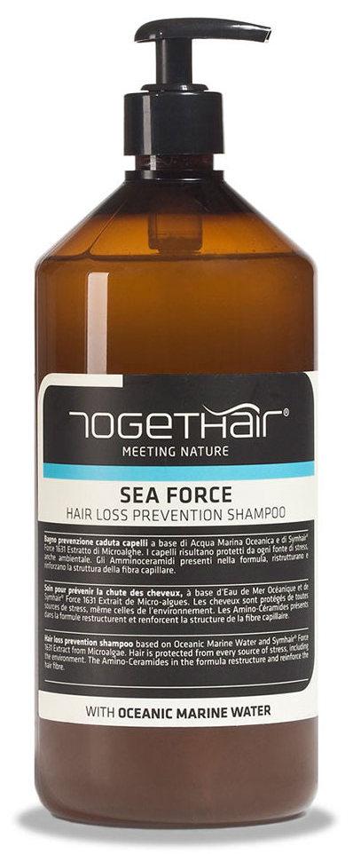 TOGETHAIR Шампунь от выпадения волос / Sea Force Shampoo hair loss prevention 1000 мл  - Купить