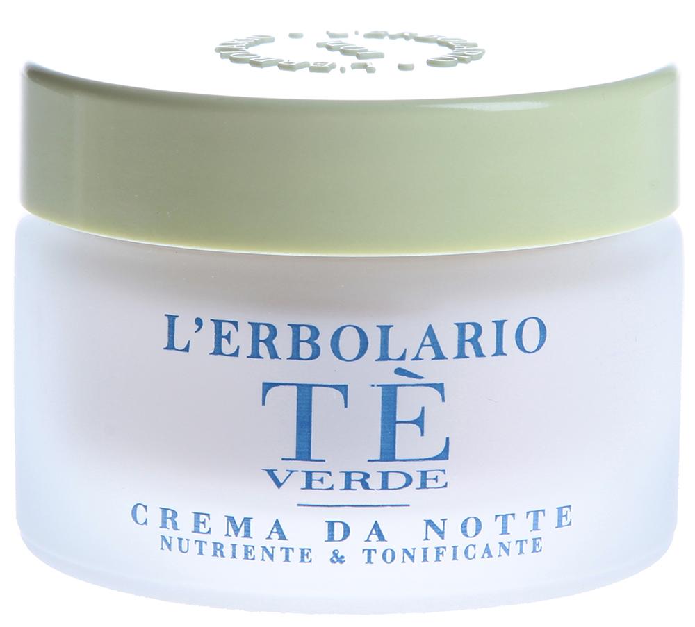LERBOLARIO Крем ночной Зеленый чай 50мл