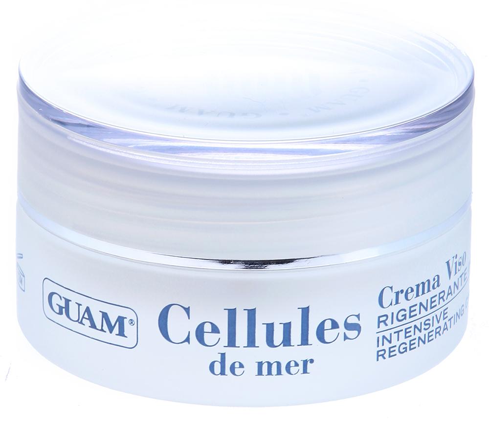 GUAM Крем интенсивно восстанавливающий против морщин для лица / CELLULES DE MER 50мл