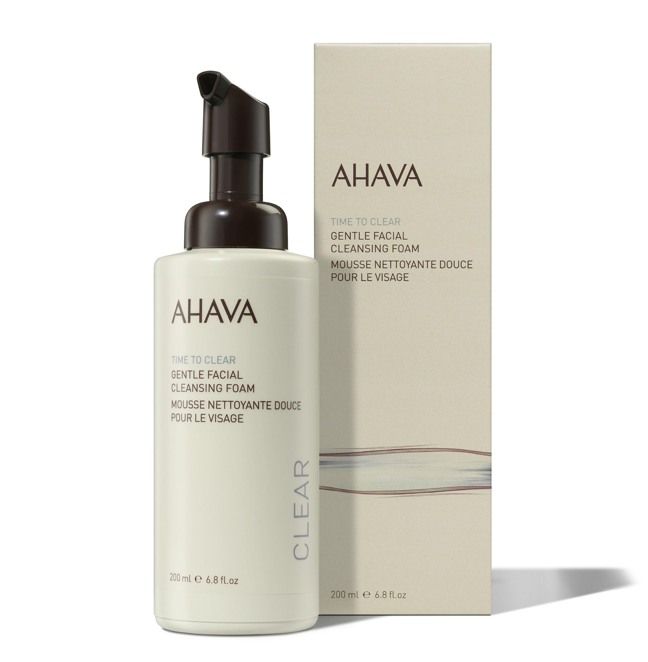 Купить AHAVA Пенка нежная очищающая для лица / Time To Clear 200 мл