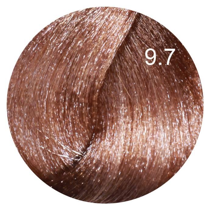 FARMAVITA 9.7 краска для волос, светлый блондин коричневый кашемир / LIFE COLOR PLUS 100мл
