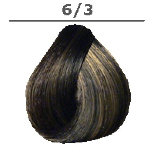 LONDA PROFESSIONAL 6/3 Краска для волос LC NEW инт.тонирование тёмный блонд золотистый, 60мл