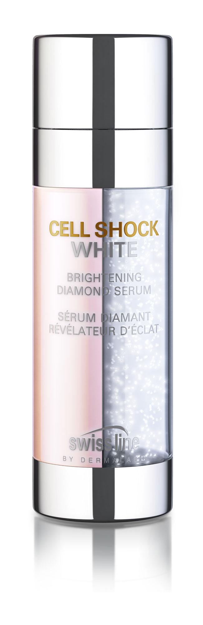 SWISS LINE Сыворотка осветляющая Алмазная / CELL SHOCK WHITE HD Brightening Diamond Serum, 40 мл