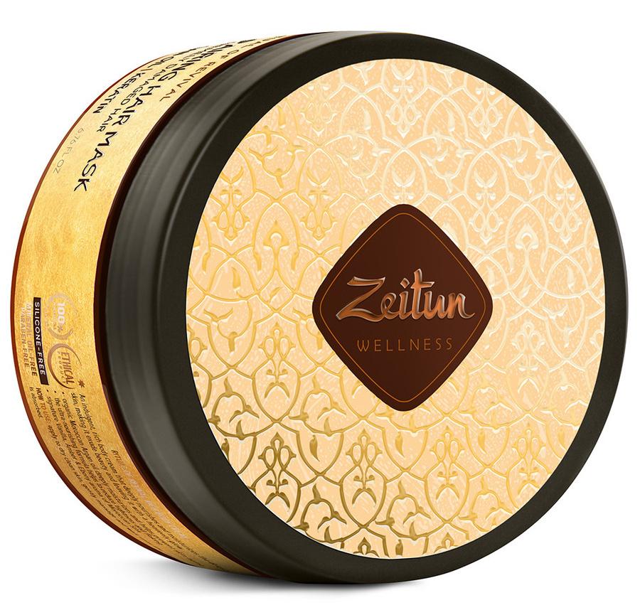 Купить ZEITUN Маска с аргановым маслом и кератином для сильно поврежденных волос Ритуал восстановления 200 мл