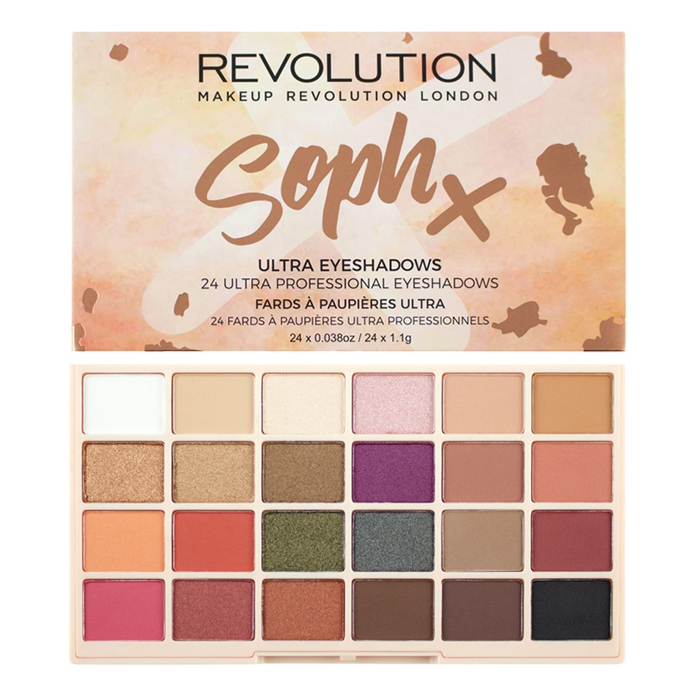 MAKEUP REVOLUTION Палетка теней для век / SophX Ultra Eyeshadows