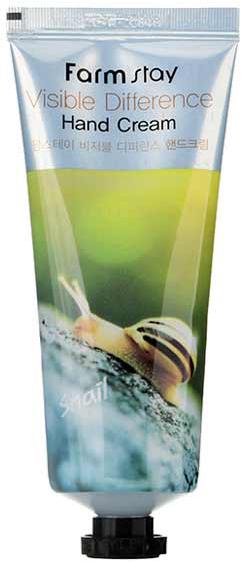 Купить FARMSTAY Крем с муцином улитки для рук / Visible Difference Hand Cream (AD) 100 г