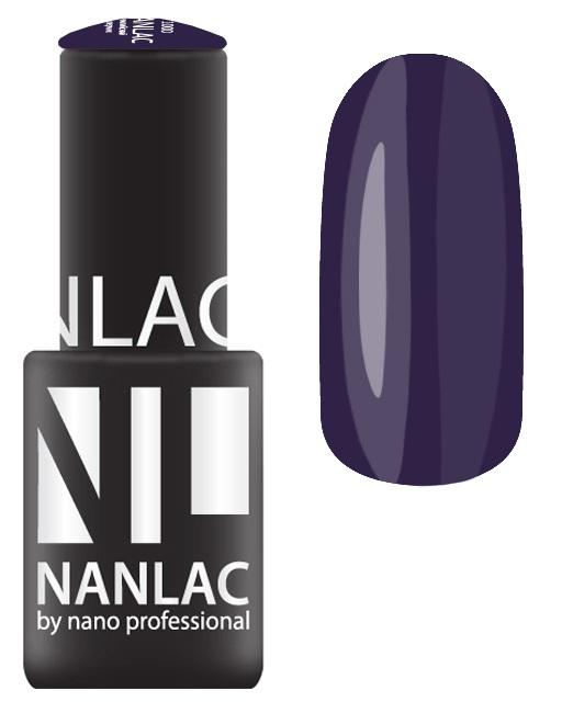 Купить NANO PROFESSIONAL 2150 гель-лак для ногтей, черничный поплин / NANLAC 6 мл, Фиолетовые
