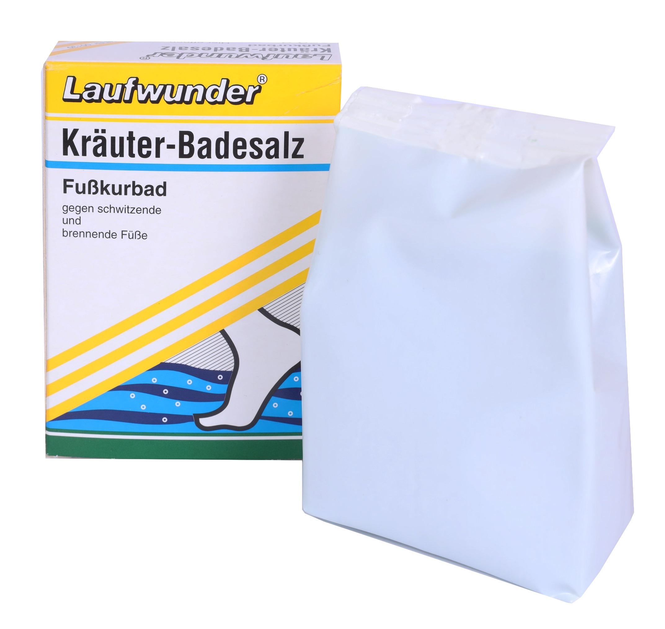 LAUFWUNDER Соль с экстрактами трав для ванн 250 г