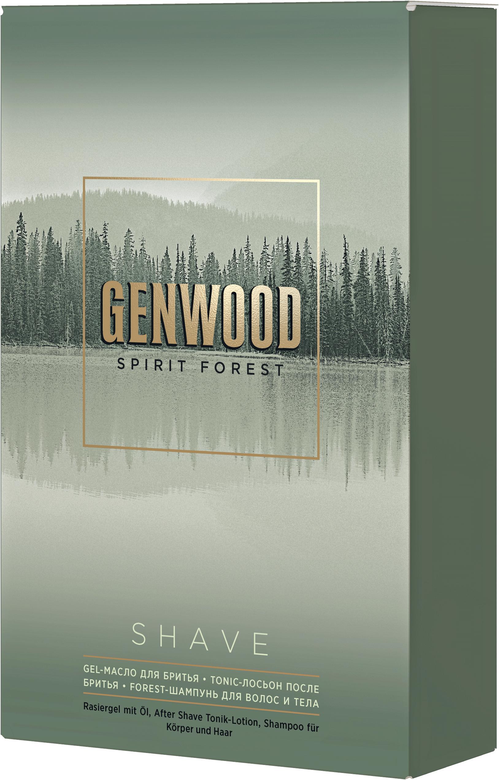ESTEL PROFESSIONAL Набор для мужчин (шампунь, гель-масло, лосьон) / GENWOOD shave