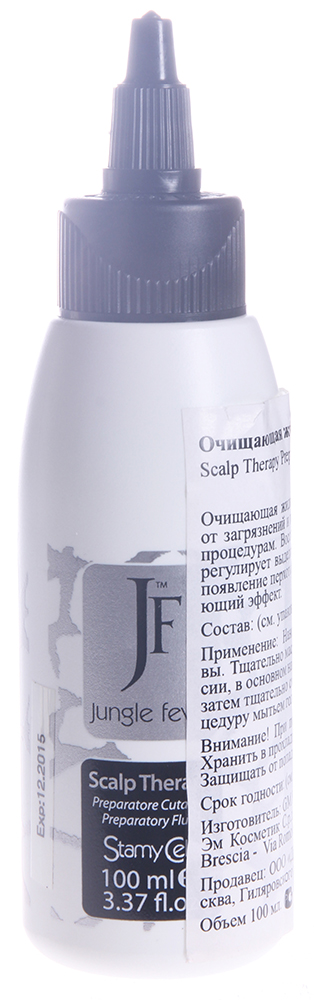 JUNGLE FEVER Жидкость очищающая / Preparatory Fluid SCALP THERAPY LINE 100 мл