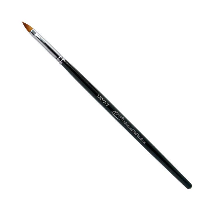 Купить PNB 12D кисть для дизайна лепесток нейлон / Nail Art Brush oval sharp 2-s PNB nylon, 10 мм