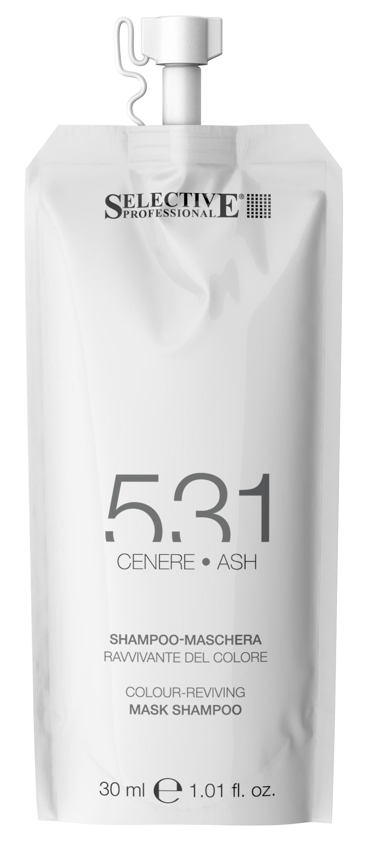Купить SELECTIVE PROFESSIONAL Шампунь-маска для возобновления цвета волос 531, пепельный 30 мл