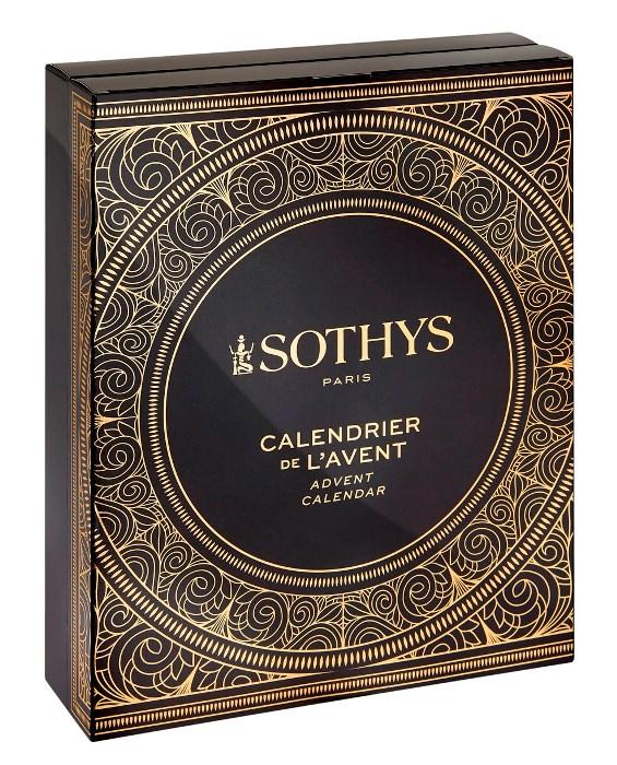 Купить SOTHYS Рождественский адвент календарь 2020, набор 24 позиции 190 мл