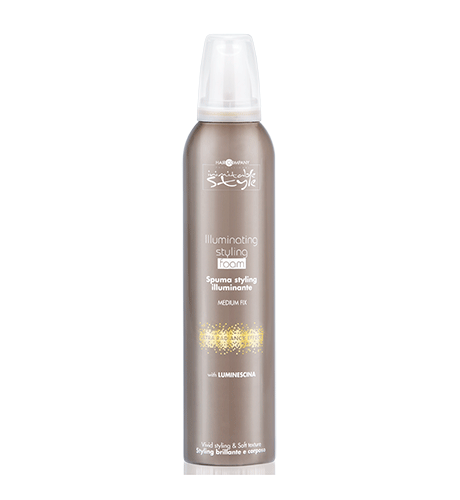 HAIR COMPANY Мусс придающий блеск (средняя фиксация) / INIMITABLE STYLE Illuminating Medium Styling Foam 250 мл