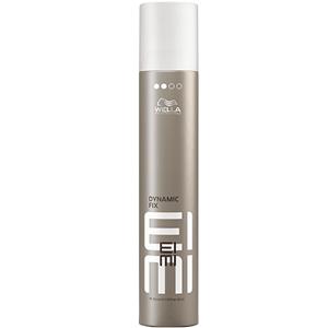WELLA Спрей для фиксации 45 секунд / EIMI 300млСпреи<br>СПРЕЙ-ФИКСАТОР 45 СЕКУНД DYNAMIC FIX. Воплощайте любые стайлинг-идеи от изысканных до авангардных. Спрей не утяжеляет волосы и защищает их от влаги, UV-лучей и воздействия высоких температур во время укладки. Чарующий аромат. Способ применения: распылите спрей на сухих волосах на расстоянии вытянутой руки. Скульптурируйте любые формы или их отдельные элементы. Спрей фиксирует укладку за 45 секунд.<br><br>Объем: 300 мл